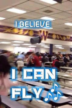 •I BELIEVE I CAN FLY~• I'M A FLYING TRASHCAN •FUNNY MEME PIC/EDIT•