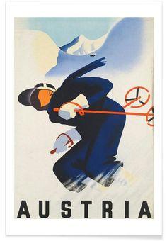 austria2 als Premium Poster von Robert Livingston | JUNIQE