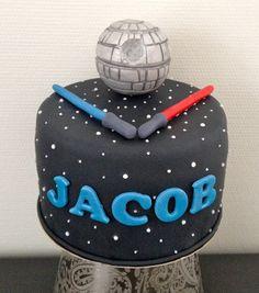 Star wars cake - Sockersöta Ninni