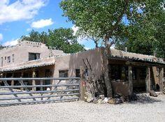 Case Grande Trading Post in Los Cerrillos, New Mexico.  Ain't no mall.