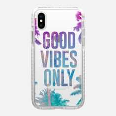 Casetify iPhone X インパクトケース - Transparent Tropical Summer Good Vibes Only by hyakume #iphonexdroptest,