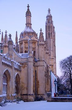 King's College in Cambridge, England