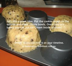 Cookie cup trick