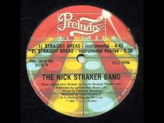 """Nick Straker Band - """"Straight Ahead""""  (Intrumental & Intrumental Reprise ) mixed by Francois Kevorkian (1982)"""