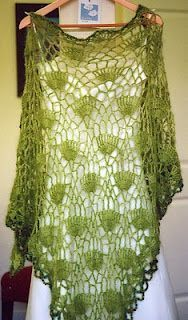 shawl patterns on raverly