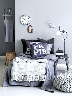 grijs en stoer interieur