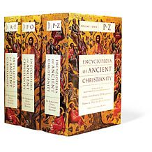 Win a copy of the new Encyclopedia of Ancient Christianity!  This 3-volume encyclopedia comprises 3,220 entries by a team of 266 scholars from 26 countries, covering 8 centuries of the Christian church and addressing such topics as archaeology, art and architecture, biography, culture, doctrine, ecclesiology, geography, history, philosophy, and theology. @InterVarsity Press