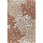 Liepaja Rust (Red) 3 ft. 6 in. x 5 ft. 6 in. Indoor Area Rug