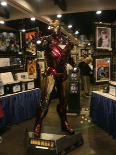 Comic-Con 2010 Iron Man statue by