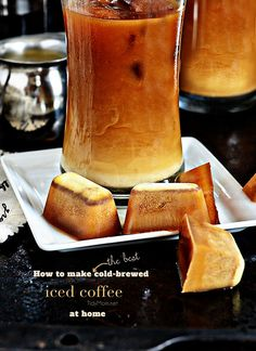 Coffee Ice Cubes are the secret to good iced coffee.  Details at TidyMom.net   Great idea!    www.gloversgrind.organogold.com