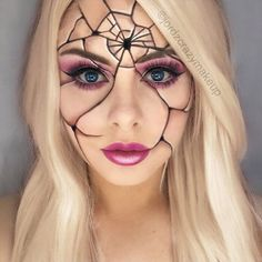 You can find the most extravagant, scary Halloween makeup looks in our gallery. Check them out and pick something really dreadful.