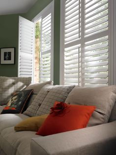Our classic wooden window shutters offer the ultimate control of light, shade and privacy. Take advantage of our 3 for 2 offer on shutters now!