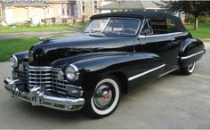 1942 Cadillac Convertible Club Coupe.