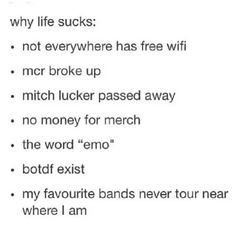 Especially because Blood On The Dance Floor exists.... And because I'm broke, so no band merch for me....