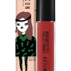 On one of my lipsticks in collaboration with Lipsticks, Lip Gloss, Collaboration, Beauty, Lipstick, Gloss Lipstick, Beauty Illustration