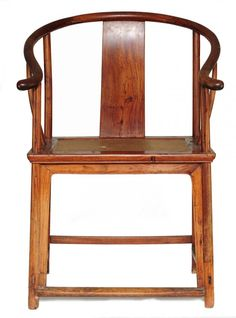 A Huanghuali Arm Chair, Ming Dynasty On