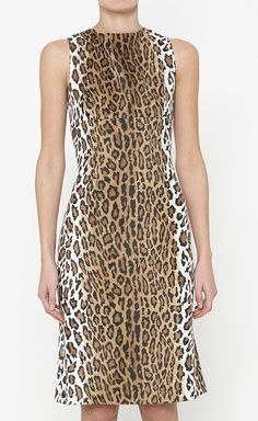 Moschino Cheap & Chic Black, Brown And White Dress | VAUNTE