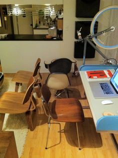 trying to pair a chair with the vintage george nelson action office 1 roll top desk action office 1 desk