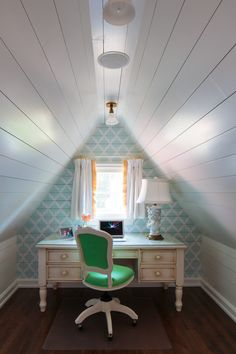 attic loft office decor how to utlize space better decorating bible blog