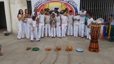 Primeiro evento da Associação Abaeté Capoeira