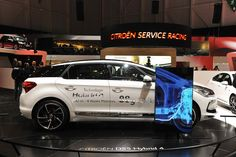 DS5 Hybrid4 na autosalóne v Ženeve 2013
