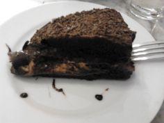 Torta Chocolate con Manjar (Barrio Lastarria / Santiago / Chile).