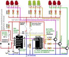 7 best silicon controlled rectifier images variables, circuitsled pattern flasher using 555 timer, 4017 counter and 2n2222a transistors with variable resistance 0