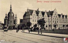 dawny gdańsk - Szukaj w Google Danzig, Germany And Prussia, Old Photographs, Krakow, Poland, Louvre, Street View, City, Pictures