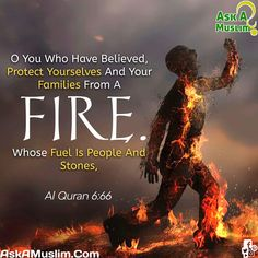 If you don't turn away from Islam, you will most certainly suffer from Hell-fire for all eternity! Imam Ali Quotes, Allah Quotes, Muslim Quotes, Religious Quotes, Quran Quotes, Quran Sayings, Qoutes, Life Quotes, Allah Islam