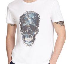 Love this: Skull Print Cotton Tee @Lyst