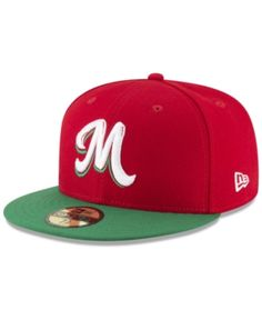 New Era Mexico Caribbean Series Vize 59Fifty Fitted Cap - Red 7 3 8 Gorra 9ba36b1f90c75