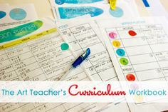 Art Teacher's Curriculum Workbook