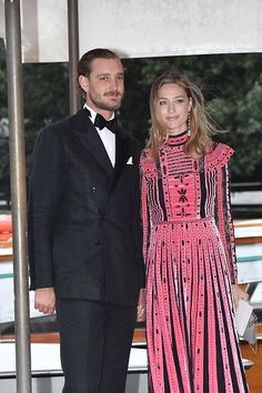 1 September 2017 - Pierre and Beatrice attend the 74th Venice Film Festival - dress by Valentino