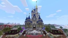 Loving this Minecraft cool build. This Disney style castle looks truly awesome and I am in ore of how this has been built. Up there with the best Minecraft builds. for more awesome minecraft building ideas check out - http://xboxlivearcader.com/what-to-build-in-minecraft-xbox-360-edition/