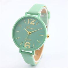 $0.72 (Buy here: https://alitems.com/g/1e8d114494ebda23ff8b16525dc3e8/?i=5&ulp=https%3A%2F%2Fwww.aliexpress.com%2Fitem%2FBrand-Simple-Women-s-Women-Watches-Geneva-Watch-Women-Faux-Leather-Analog-Quartz-Wrist-Watch%2F32790407179.html ) Brand Simple Women's Women Watches Geneva Watch Women Faux Leather Analog Quartz Wrist Watch Bayan Kol Saati Montre Femme for just $0.72