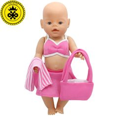 43cm Baby Born Zapf Doll Clothes Pink Beach Dress Suit + Scarf + Bag Baby Born Doll Accessories Children Best Gift 199 #>=#>=#>=#>=#> Click on the pin to check out discount price, color, size, shipping, etc. Save and like it!