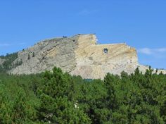 Crazy Horse Memorial, South Dakota, USA we took Michael to see this when he was about 9 or 10 years old.
