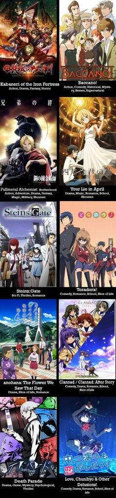 Just a few of my favorite anime series - 9GAG