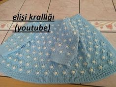 Harika örgüler örgü modelleri ile birlikte bir bir yayınlanmaya devam ediyor. İki şişle örülen pıt pıt çiçekli hırka örneği de bunlardan biri. Diy Crafts Dress, Floral Cardigan, Baby Vest, Jacket Pattern, Baby Sweaters, Baby Knitting Patterns, Knitting Socks, Crochet Baby, Construction