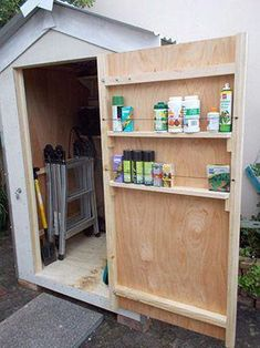 DIY Shed Organization So organisieren Sie einen Schuppen - All For Garden