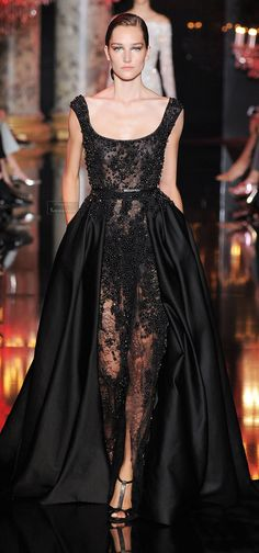 Elie Saab Fall-winter 2014-2015. JOSEPHINE LE TUTOUR