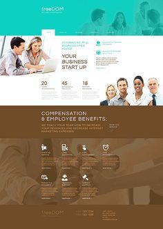responsive website vorlage für medizin template