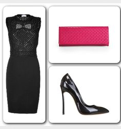 If you have a hot date this Valentines make sure you pair it up with a hot outfit  Dress (#ValentinoRed Wool Pointelle Bow Dress) available at www.stylebob.com at 50% off at $375. Shoes (#Casadei 120MM Patent Leather Blade One Pumps) available at www.luisaviaroma.com at 55% off at $345. Clutch (#Gucci Broadway Microguccissima Evening Bag) available at www.saksfifthavenue.com at $495. #valentinesday #love #hotdate #hotoutfit #loveisintheair #itgirl #elegant #chic