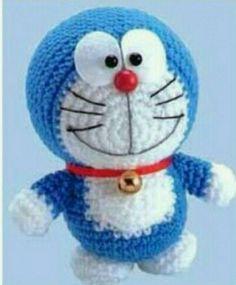 Amigurumi Örgü Oyuncak Modelleri – Amigurumi Doraemon ( Mavi Kedi ) Tarifi ( Anlatımlı )