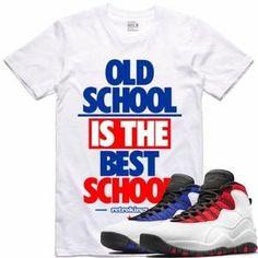57e7a79bf26 Retro Kings T-Shirt Jordan Retro 10 Westbrook Sneaker Tees Shirt - OLD  SCHOOL RK