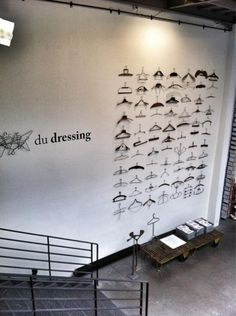 hanger display by leanne