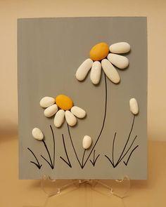 Diy art 513691901247405463 - Beautiful Pebble Art Ideas Source by grandmatreasure Stone Crafts, Rock Crafts, Diy And Crafts, Crafts For Kids, Arts And Crafts, Art Crafts, Homemade Crafts, Garden Crafts, Nature Crafts