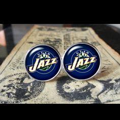 Utah Jazz   Find us at these as well:  http://www.bonanza.com/booths/Kustom_Kufflinks  http://www.rebelsmarket.com/rebel-store/kustom-kufflinks