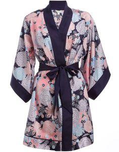 Chrysanthemum print kimono gown £59.00 Monsoon