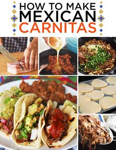 How To Make An Insanely Delicious Feast Of Mexican Carnitas. Too many ingredients for me but thought I'd share for anyone willing to go the distance. :)
